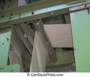 production of paper products - Plant for the production of...