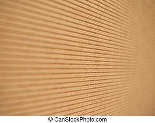 Corrugated cardboard - Brown corrugated cardboard useful as...