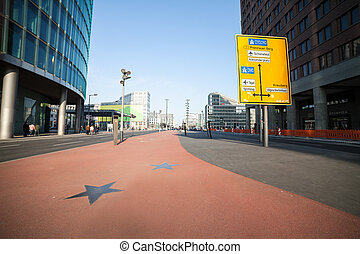 """broadway"" at potsdamer platz in berlin"