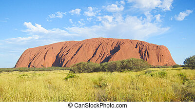 Mount Uluru. Australia