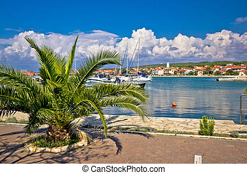 Bibinje village in Dalmatia waterfront view - Bibinje...
