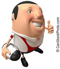 rugby, joueur