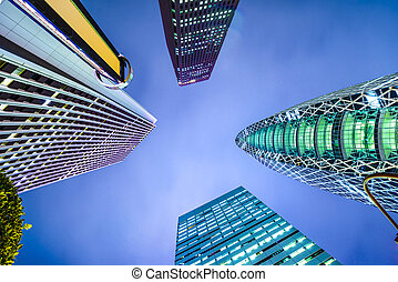 Shinjuku, Tokyo, Japan city skyline