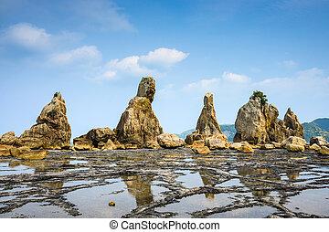 Kushimoto, Japan Coast - Kushimoto, Wakayama Prefecture,...