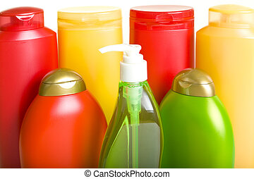High-quality Hygiene Products in Colorful Bottles