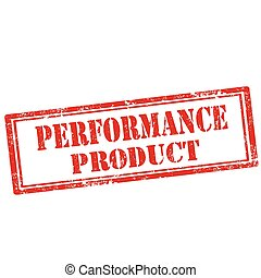 Performance Product-stamp - Grunge rubber stamp with text...