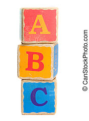 Toy Blocks - Childs toy blocks for education and learning...