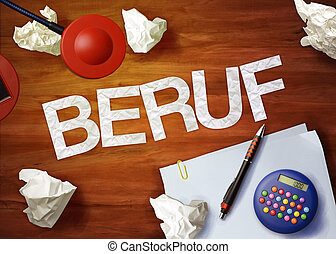 beruf desktop memo calculator office think organize