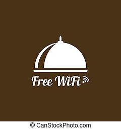 Internet cafes. Wireless free connection.