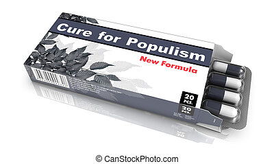 Cure for Populism - Blister Pack Tablets. - Cure for...