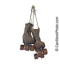 Roller skates  - Hanging ornamental vintage roller skates