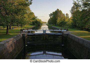 Rideau Canal Locks  - Rideau Canal Locks, Ontario, Canada