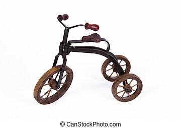 modelo, triciclo