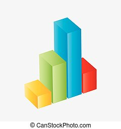 Colorful vector 3d graph