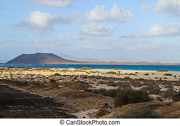 Corralejo national park - Corralejo is a national park in...