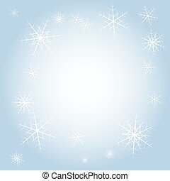 Vectror abstract winter background