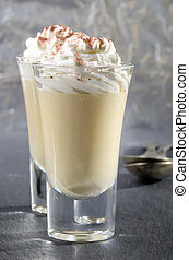 butterscotch and whipped cream - butterscotch made from...