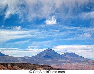 Licancabur Volcano - Valle de la Muerte and Licancabur...