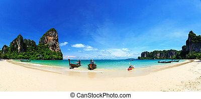 Railay beach, Krabi, Andaman sea Thailand