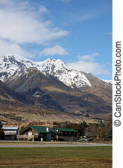 Glenorchy and Richardson mountains - Looking at the...