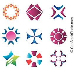 Vector logo & design elements Pack