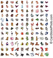 Animals Big set mega pack