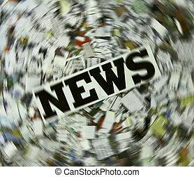 news  - concept urgent News