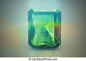 Peridot gem 