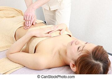 abdomen massage