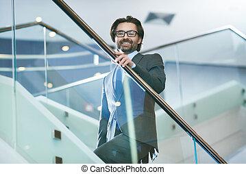 Successful business leader - Mature businessman in elegant...