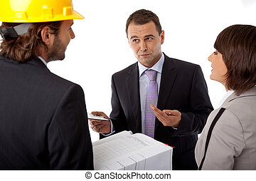 investor setting goals - contractor and investor discussion...