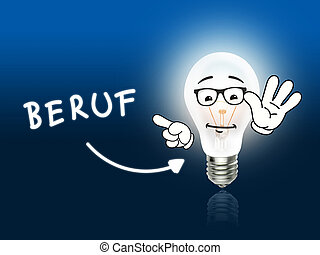 Beruf Bulb Lamp Energy Light blue Idea Background