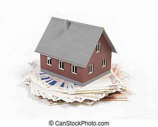 house costs a lot of money - house appear as an retirement...
