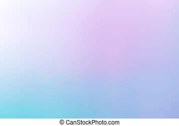 Blue gradient defocused abstract background