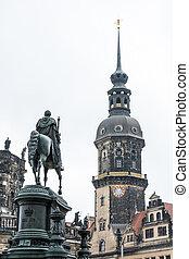 King John Memorial in Dresden - King John Memorial (built...