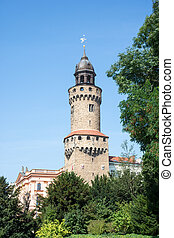 Reichenbacher Tower in Goerlitz - The Reichenbacher Turm...