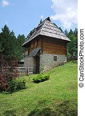 Old house in Sirogojno