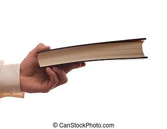 handover a book - handover a black book