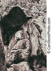 Feilai Feng stone carvings, Lingyin temple - Feilai Feng...
