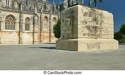4K - Batalha Monastery, Portugal - The Monastery of Batalha,...