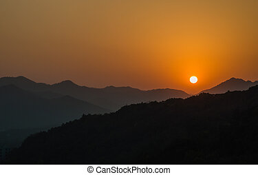 Sunset in Hangzhou, China - Beautiful Sunset Around Hangzhou...