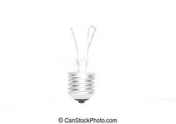 overexposed light bulb