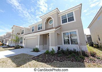 Florida Home - A Front Exterior of a Florida Home