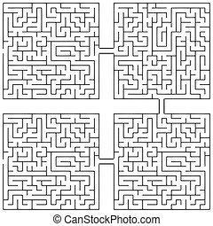 Labyrinth Vicissitudes of life - Combining labyrinths...