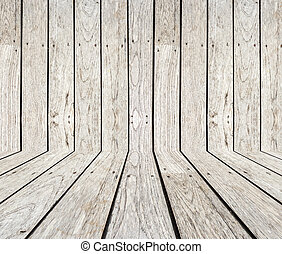 Grey Timber decking background and texture