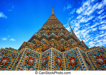 Wat Pho the thai temple in Bangkok, Thailand - Wat Pho the...