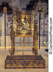 Tutankhamun's Gold Throne