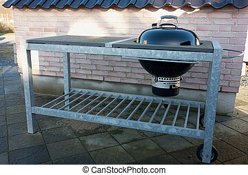 Outdoors grill BBQ