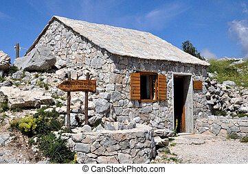 Mountain hut in Biokovo