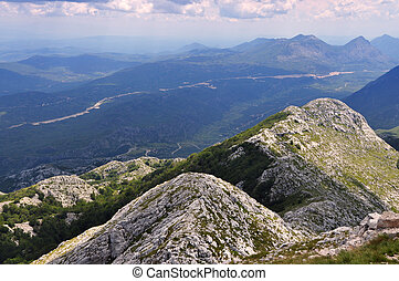 Biokovo in The Croatia - View from Sv. Jure - Croatia